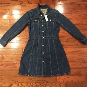 AE long sleeve jean dress
